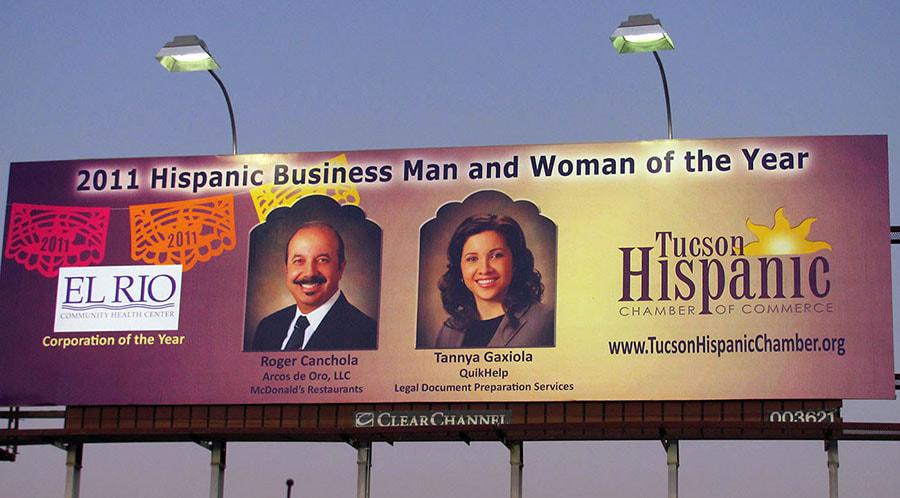 THCC Clear Channel billboard 2011
